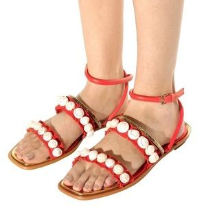 Like new Tory Burch Sinclair Sandal